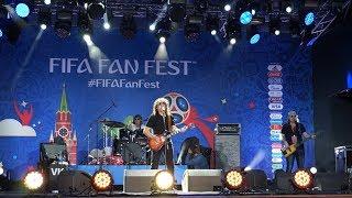 Владимир Кузьмин на фестивале болельщиков FIFA Fan Fest, 16.06.2018, Москва, Ленгоры (часть 1)