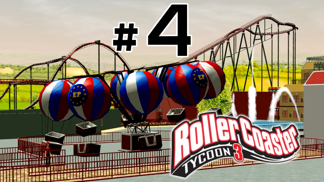 Roller Coaster Tycoon 3 | Building a New Park With Custom Scenery and Time  Lapse Part 4