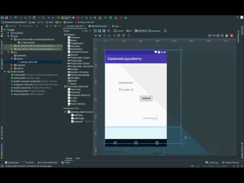 Android ConstraintLayout Tutorial