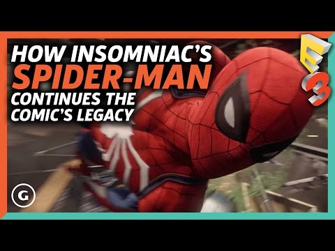 How Insomniac's Spider-Man Continues The Comic's Legacy | E3 2017 GameSpot Show