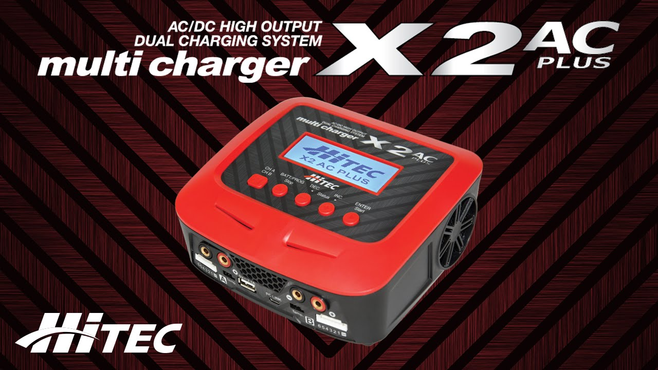 hitec x2 ac plus black edition app