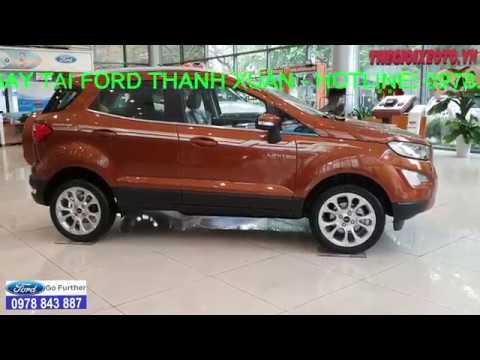 Giá xe Ford Ecosport 2019|Khuyến mãi mua xe Ford Ecosport 2019 cực kỳ lớn, xe có đủ màu giao ngay.!