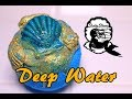 Sudsy Sirens DEEP WATER 🌊 Bath Bomb Demo & Review Underwater View MERMAID WATER