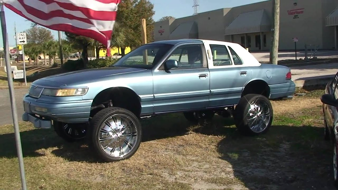 OR SALE 3500.00 IN FLORIDA 1995 GRAND MARQUIE LIFTED UP DONK CAR ...