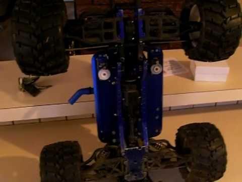 traxxas t maxx steering upgrade mod