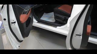 Hyundai Solaris розпакування декоративних порогів