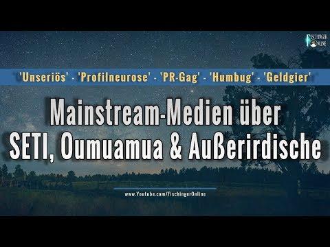 Alien-Suche, SETI und Oumuamua: alles Humbug unseriöser Forscher für den Mainstream