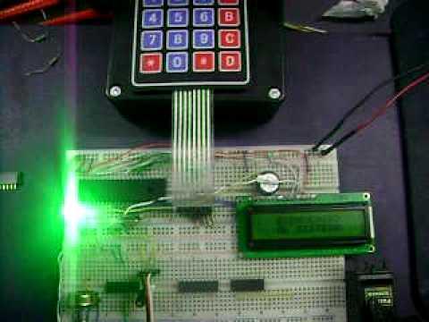 Cerradura electronica sistema de seguridad youtube - Cerraduras de seguridad ...