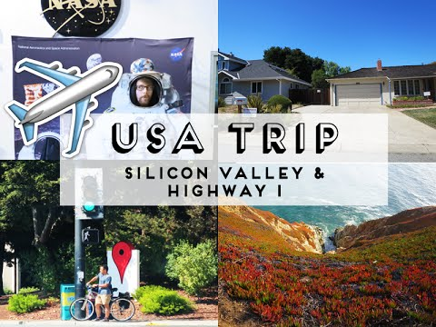 ✈ USA Trip: Silicon Valley & California Route 1 (travel vlog)
