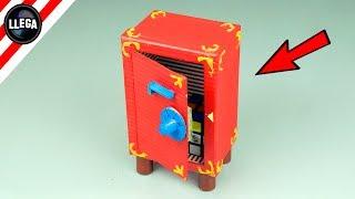 cómo hacer una caja fuerte con combinación