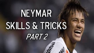Neymar Jr | Skills, Tricks & Goals | Part 2 | 2013 HD