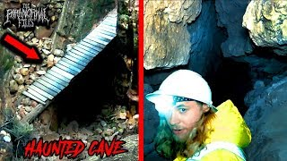 [SCARY!] Exploring the Haunted APACHE DEATH CAVE at Night | THE PARANORMAL FILES