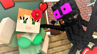 Monster School : LOVE STORY 2 - Minecraft Animation