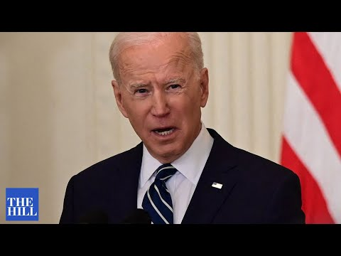 VIRAL MOMENT: Biden interrupted by protesters during speech