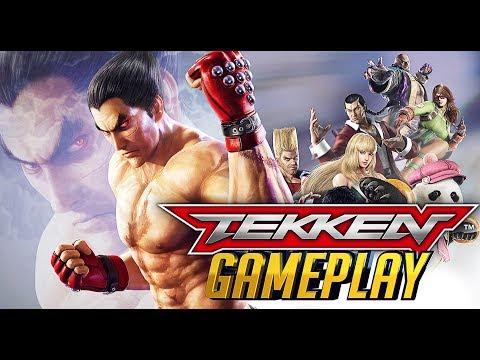 TEKKEN Mobile Game - Character Battle Gameplay Compilation 01