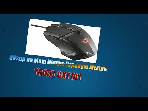 Мышь Trust GXT 101 USB Black (TR21044)