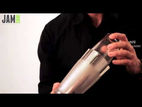 How to use a Jam Inns Boston Cocktail Shaker