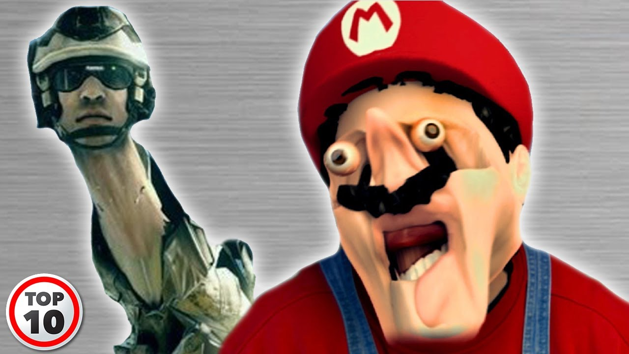 Top Funniest Video Game Glitches YouTube - 26 terrifying video game glitches hilarious