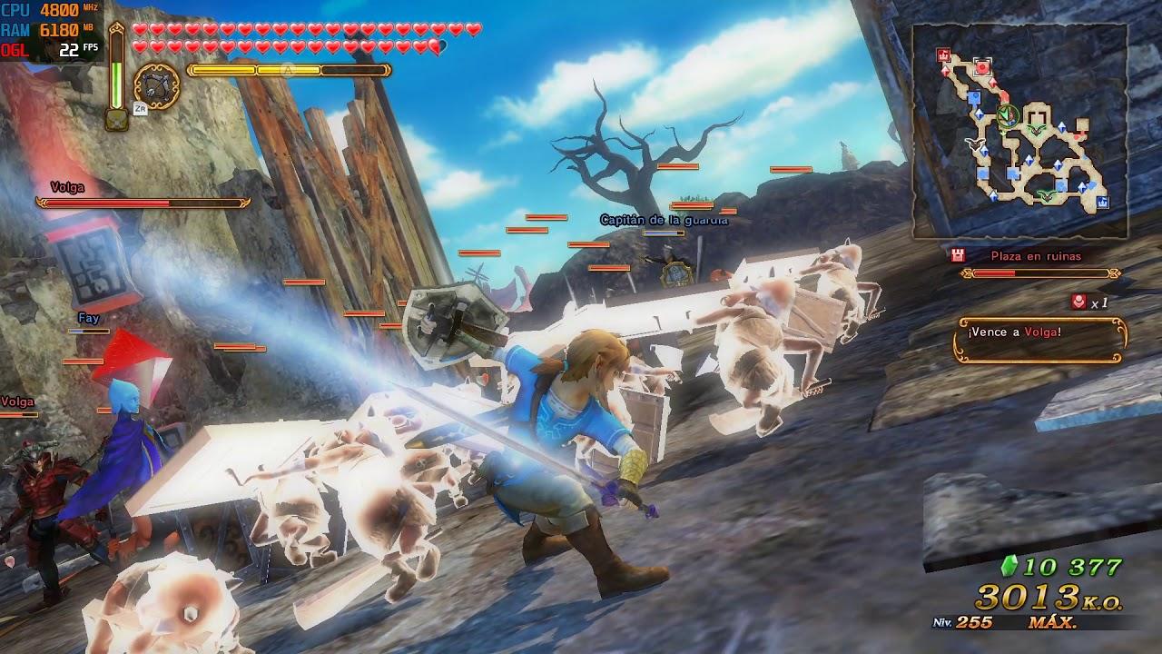 Yuzu Early Access 249 Hyrule Warriors Definitive Edition Youtube