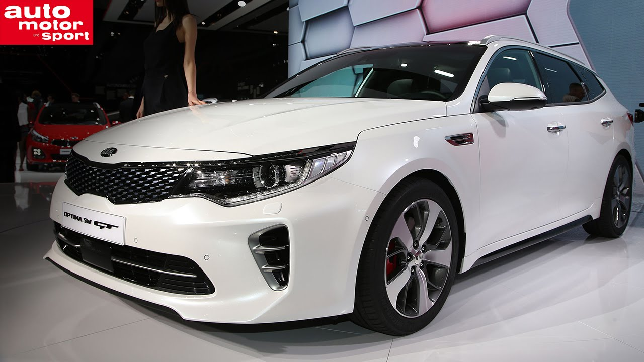 Genf 2016 Kia Optima Sw Youtube