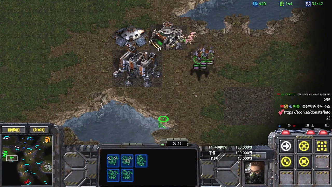 [레토] 고수만오라는방제 갔더니 우리팀 다 패가더많네요? 홈팀양x치팀 참교육 헌터스타팀플 TeamPlay StarCraft