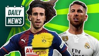 Real Madrid: Sergio Ramos für Champions League gesperrt! BVB will Barcelona-Talent! Neues zu Naldo!