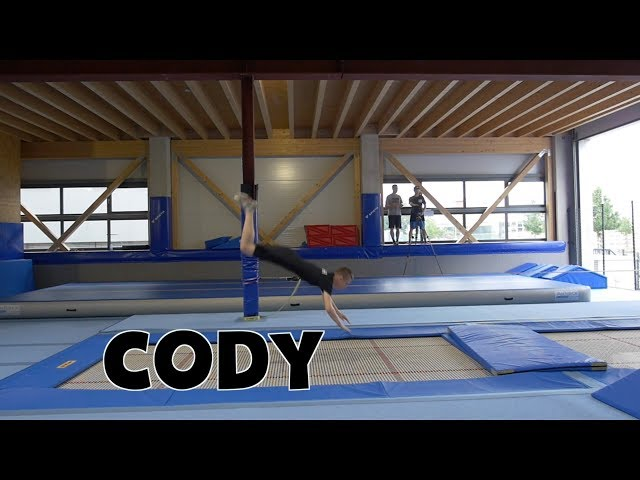 Trampolin Tutorial - CODY // Freestyle Academy Stuttgart