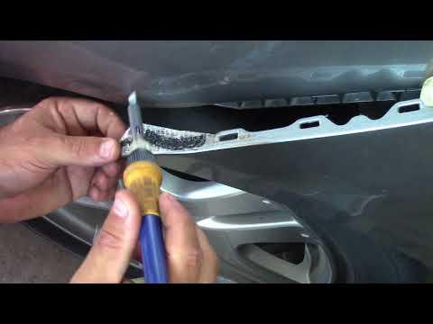 Car Bumper Broken Plastic Tab Repair