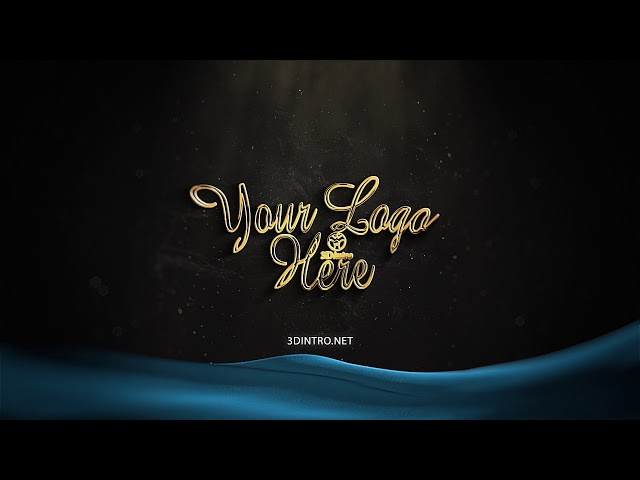 3Dintro.net 402 gold logo - 3Dintro.net - Intro Video