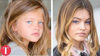 10 Famous Child Models ALL GROWN UP thumbnail