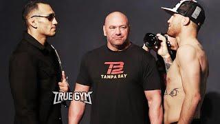 Битва взглядов Тони Фергюсон против Джастина Гейджи перед UFC 249 | РУССКАЯ ОЗВУЧКА