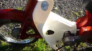 1994 honda c90 economy electric start cub low mileage for sale at classicmopedspares com