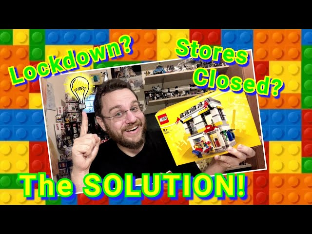 My Own Lego Store! - Solution For Closed Shops Due To The Pandemic (Lego Set 40305)