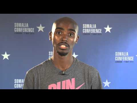 Mo Farah: 'let's get behind the Somalia Conference'