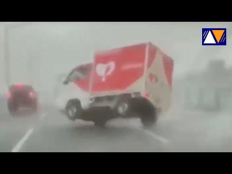 Storm in Turkey yesterday | Heavy rainfall causing flash flood in Edirne City, Turkey on June 2.