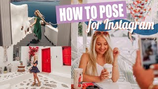 How to Pose for Pictures // 15+ Pose Ideas and Tips!