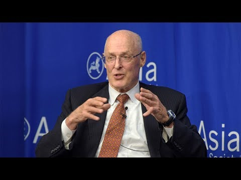 Henry Paulson on a U.S.-China Economic Iron Curtain