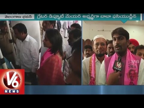 Hyderabad Deputy Mayor Baba Fasiuddin Thanks CM KCR And IT Minister KTR | V6 News