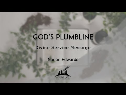 Narlon Edwards - Gods Plumbline