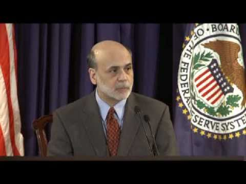 Press Conference with the Chairman of the FOMC, Ben S. Bernanke