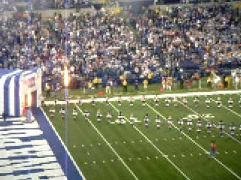 Indianapolis Colts vs Tennessee Titans, December 2008: Colts starting line-up