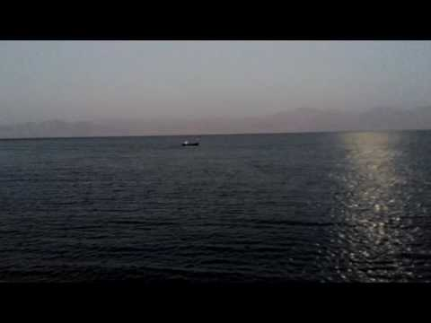 Fishing boat in Nuweiba, South Sinai, Egypt