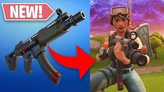 NEW SUBMACHINE GUN W/ SSUNDEE! (Fortnite: Battle Royale)
