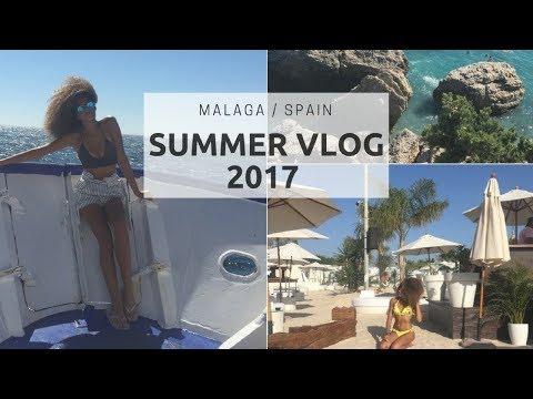 Summer Vlog 2017 Malaga, Spain | Last summer at home 😢