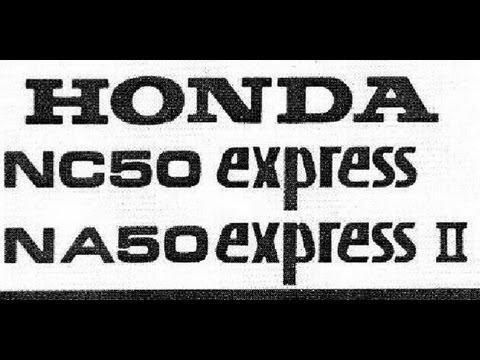 honda express service manual nc50 na50 1977 1982 youtube rh youtube com honda express nc50 shop manual honda express manual