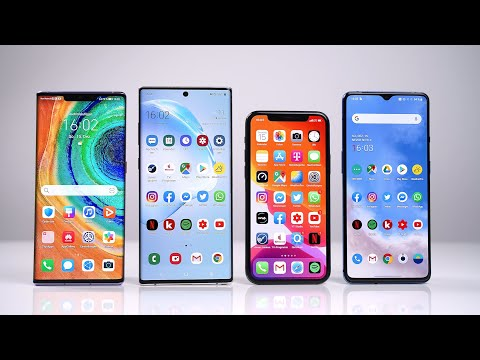 Huawei Mate 30 Pro Vs Samsung Galaxy Note 10+ Vs IPhone 11 Pro Vs OnePlus 7T - Benchmark | SwagTab