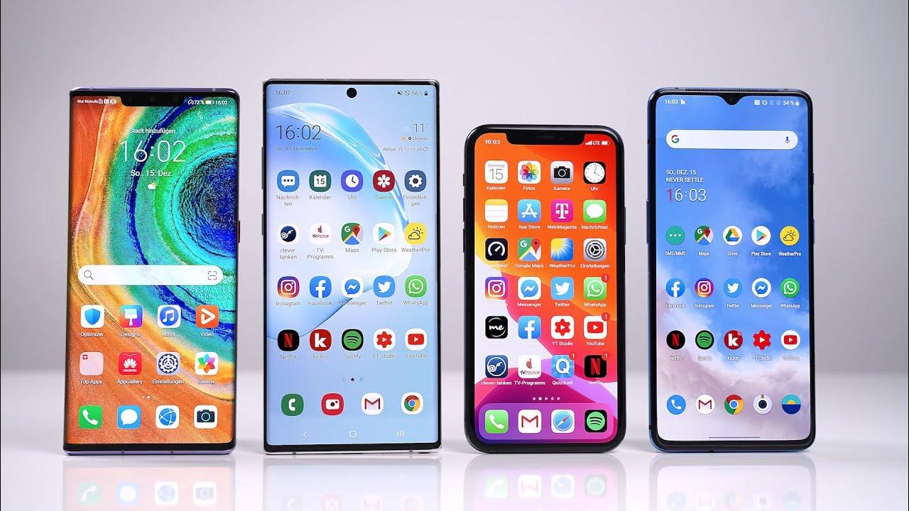 vergleiche iphone und huawei mate 9