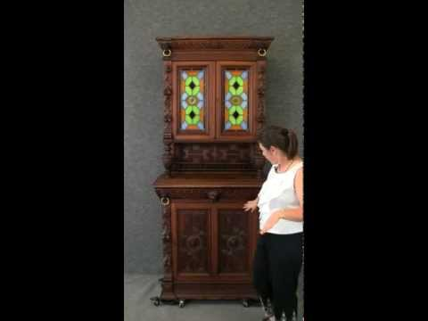 dating antique oak dresser