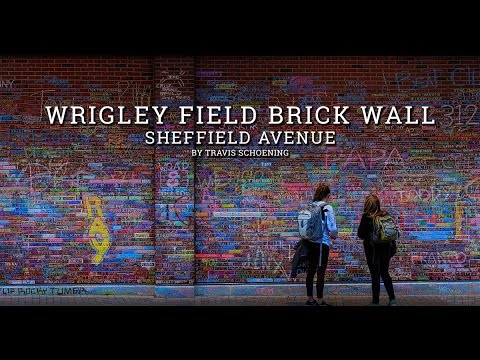 Video: Pan Over Every Name On Wrigley Field Brick Wall Before It Was  Washed: Chicagoist