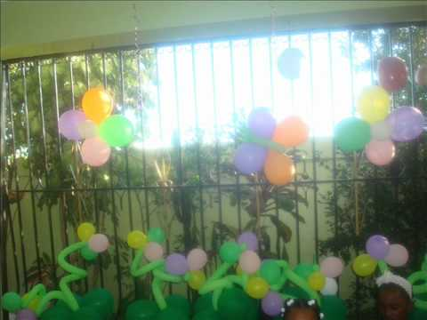 decoracion de  cumpleaño (tinkerbell)